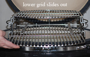 two sliding oval grids on Rig