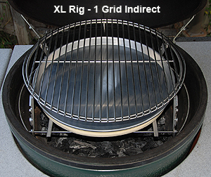 Big Green Egg Drip Pan Xl