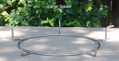 5 leg spider fits old style big green egg fire ring